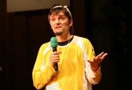 PT 2006 « Ils sont fous ces chrétiens » Alain Auderset, auteur de bandes dessinées (© J.-C. Gadmer)