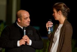 PT 2011 « Vérité… chacun la sienne? » avec Joseph Lebèze, auteur de Dé-Chaîné (© J.-C. Gadmer).